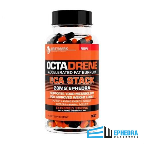 Octadrene ECA Stack 28mg of Ephedra