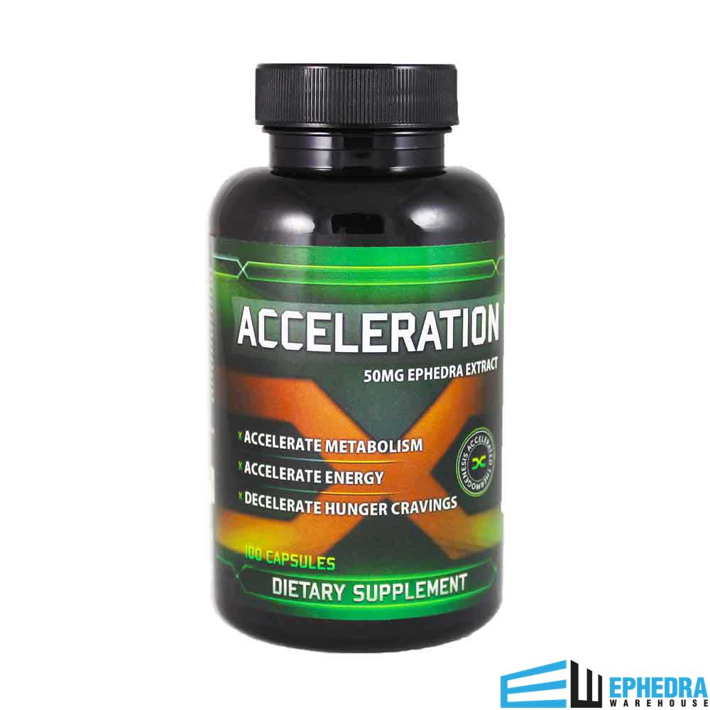 Acceleration X by Hard Rock Supplements | 50mg of Ephedra