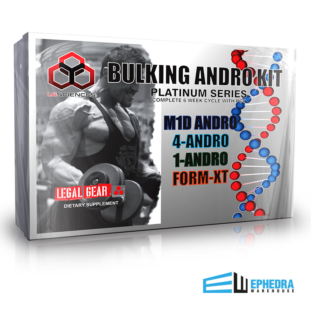Bulking Andro Kit: LG Sciences 2018
