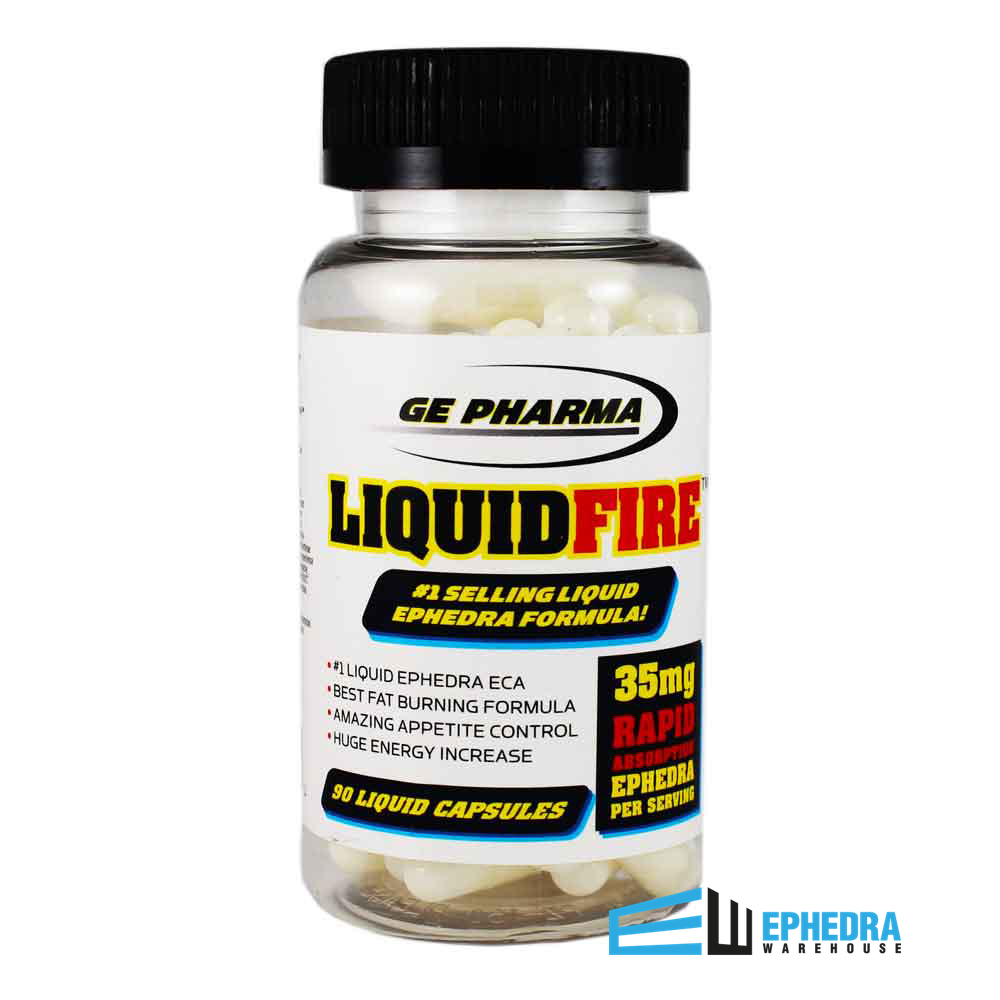 Liquid Fire Ephedra | GE Pharma Liquid Fire