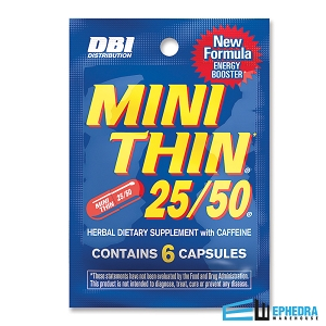 Mini Thin 25/50 Sample Packs