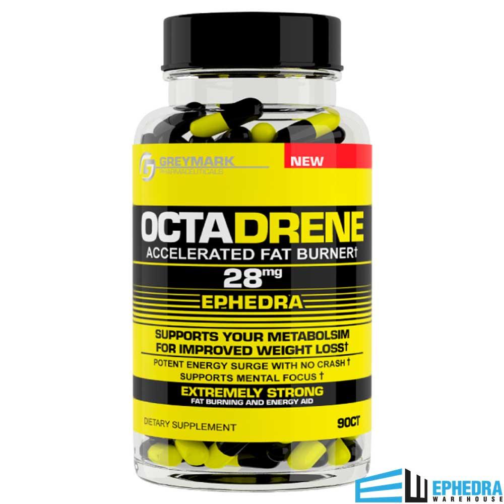Octadrene Ephedra Diet Pill by Greymark