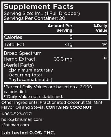 T3 Human CBD Oil-1000000304