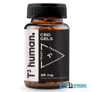 T3 Human CBD Softgels